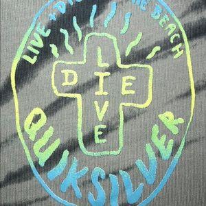 Quiksilver Shirts - Men's Quicksilver Tie Dye size large.